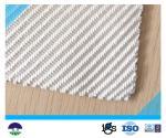 Poliéster branco geotêxtil tecido do Multifilament para a construção