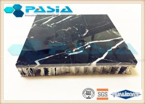 China Customized Thickness Marble Stone Honeycomb Panel at 1200 mm width and 1200 mm length on sale