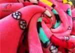 4 Way Stretch Micro Spandex Velvet / Velboa Fabric Short Pile Fabric For Making Blanket