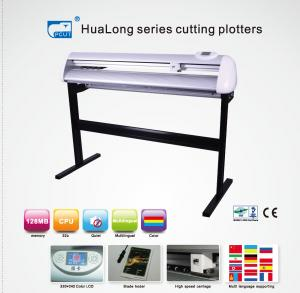 China 32 Bit CPU 1300mm Simple Graph Vinyl Cutter Plotter With Micro-Step Driver on sale