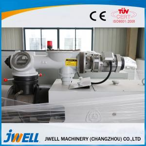 China Jwell cross-section cable duct PVC (WPC) profile extrusion line on sale