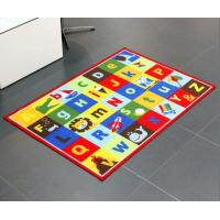 China Custom Comfortable Children Educational Play Mat Nylon Mat With Printing Numbers , Cartoons , Country Roads , Balls on sale