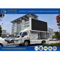 Weatherproof 1R1G1B Led Mobile Screen Truck Advertisement Wide View Angle
