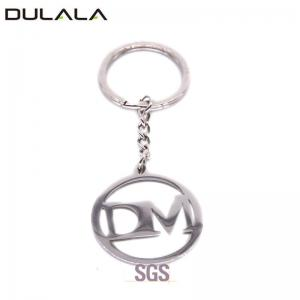 China Hollow Design Custom Zinc Alloy Metal Keychain for Promotional Gift on sale