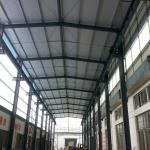 Estructuras de acero del alto palmo largo de encargo por tiempo de la fabricación del cortocircuito de Warehouse
