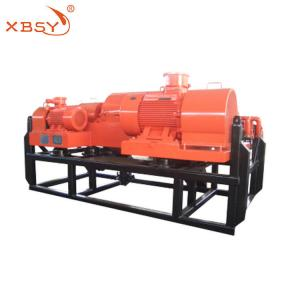 China Hazardous Wastes Horizontal Decanter Centrifuge Double Motor Variable Frequency on sale