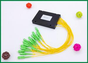 China 16 Channel Pigtailed ABS Plastic Box Dwdm Multiplexer With LC SC FC ST Connectors on sale
