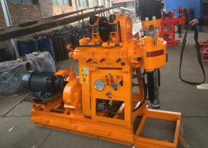 China 200 m Depth Water Well Drilling Equipment , Core Drilling Rig Diesel Power on sale
