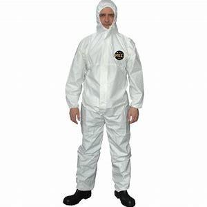 China PP+PE Dust Proof Non Woven Fabric Disposable Body Suit Breathable on sale