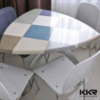 Solid Surface Table / Restaurant Shop KFC Mcdonald Table for 4 Seaters