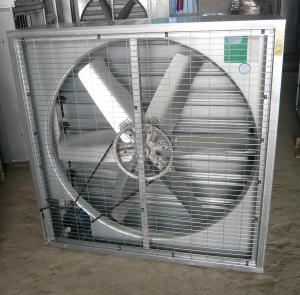China industry greenhouse pig house poultry house wall mounted metal belt driven exhaust fan with good price supplier