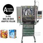 Bolso estéril de los productos del llenador aséptico del BABERO en máquina de rellenar aséptica de la caja