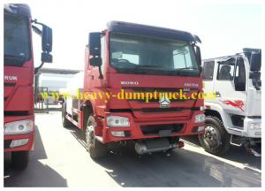 China Red 21 CBM Effective Oil Tanker Truck 6x4 For Transporting Petroleum with warranty on sale