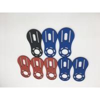 6063 T5 Aluminum Alloy Blue/ Red Anodized Aluminum CNC Machining Auto Parts