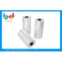 78% Shrinkage 40MIC Clear Plastic Shrink Film For Shrink Sleeve Labels Material