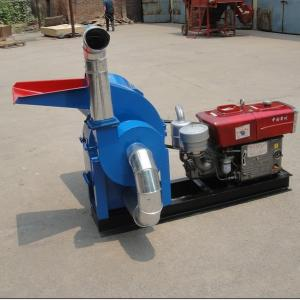 China Sell diesel engine feed hammer mill/feed grinder/feed crusher on sale