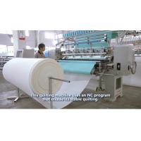 64 Inches Garment Quilting Machine , Industrial High Speed Multineedle Quilting Machine