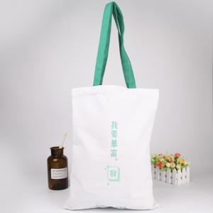 China Washable Reusable Grocery Bags Custom Logo With Offset Printing on sale