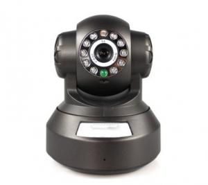China Wireless indoor Security PTZ IP Cameras / Plug and Play Security Camera on sale