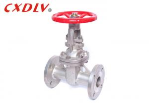 China Metal Seated Flanged Gate Valve Stainless Steel CF8 / CF3 For Gas Oil on sale