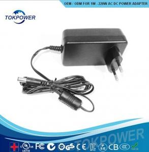 China 24V 0.5A  Universal Power Charger Euro Plug Electrical Travel Adapters on sale