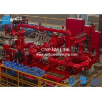 Horizontal Skid Mounted Fire Pump With Ductile Cast Iron Materials UL/FM Listed