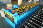 60KW Silo Roll Forming Machine With Protect Cover / 2 Punching Stations