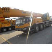 57.7 Meter XCMG QY50K Crane , 50 Ton Truck Crane 13750*2800*3520mm Dimensions