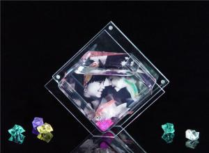 China Custom Stylish Acrylic Crystal Fish Tank Aquarium With Picture Frame on sale