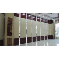 China Operable Wall Sliding Aluminium Track Folding Soundproof Wall Partition for Ballroom on sale