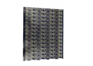China Black Solder Mask PCB Board Fabrication Immersion Gold Surface Finish 3 Mil Tracing on sale
