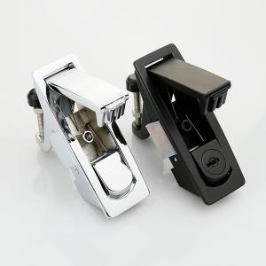 Zinc Alloy Electrical Panel Door Lock , Electric Cabinet Push Button