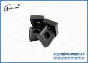 China Cnc Lathe Machine Tungsten Carbide Inserts With Long Life Time 0.5-1.5mm on sale