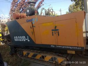 China Stronger Power And Low Noise Used Directional Boring Machine With Stable Performance on sale