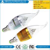 China Factory 4W Led Candle Bulb E14 E27 Led Lamps 80 CRI Solar LED candle bulb
