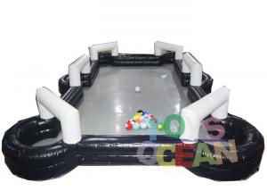 China Giant Teambuilding Game Inflatable Football Table Snooker Billiard Soccer Field on sale