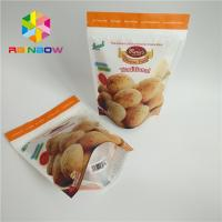 China Foil Laminated Snack Food Packaging Bags Matte Surface Finish For Biscuit on sale