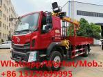 Liuqi 4*2 LHD 200hp 10tons telescopic crane boom mounted on truck for sale, HOT SALE! 10T XCMG telesopic boom on truck