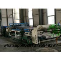 China High Speed Fence Mesh Welding Machine , Fully Automatic Fencing Machine 2.5-6mm Wire Dia on sale