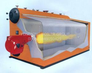 China Double Drum Fire Tube Condensing Boiler Multi - Fuel Oil Fired steam Boiler on sale
