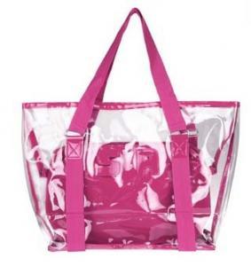 China clear pvc tote bag, clear pvc handbag on sale