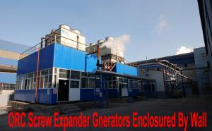 China Screw steam generators recover heat in Palm oil process to eletricity on sale