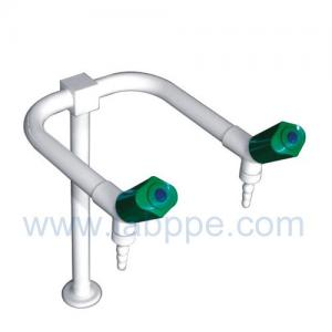Quality SHA2L-Double Outlet/Way Lab Tap,brass,360 Swing,2 way lab tap,two way lab faucet for sale