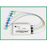 Dual Fiber Optical Add Drop Multiplexer Single Mode with LC/UPC Connectors