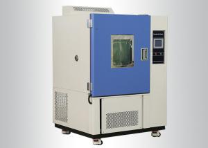 China Programmable Controller Constant Humidity Chamber With PU Movable Wheel on sale