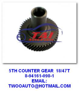 China Transmission Gear Auto Transmission Parts 5th Counter Gear 8-94161-098-1 / 8-94161-920-1 For 4ja1 on sale
