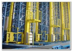 China Customized Automated Storage Retrieval System , Steel Q235 Asrs Warehouse System on sale