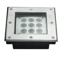 9 Watt 6500K IP65 Waterproof LED Spotlight With Stainless Steel Housing