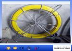 Longueur jaune de Rod 200M de conduit de fibre de verre du diamètre 10MM pour le traçage de câble
