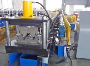 China Two Waves Steel Roll Forming Machine / Portable Metal Roofing Machine High Accuracy on sale